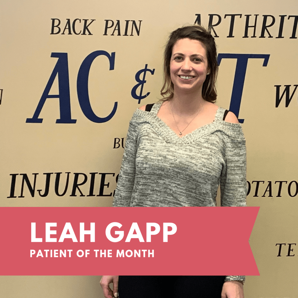 February Patient of the Month: Leah Gapp