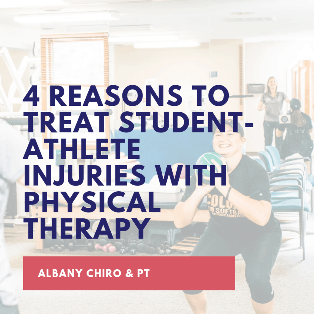 4 Reasons to Treat Student-Athlete Injuries with Physical Therapy