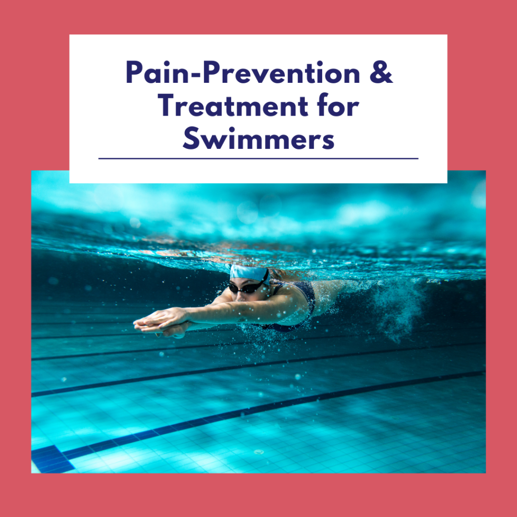Pain-Prevention & Treatment for Swimmers